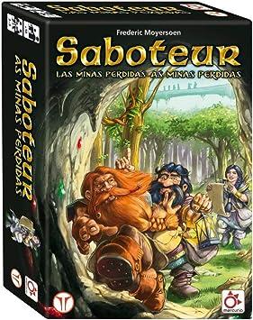 Mercurio Saboteur: Las Minas Perdidas - Juego de Mesa [Castellano]: Amazon.es: Juguetes y juegos