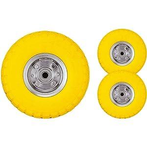 Set de dos neumáticos Bond Hardware de 25,4 cm para carros de carga y