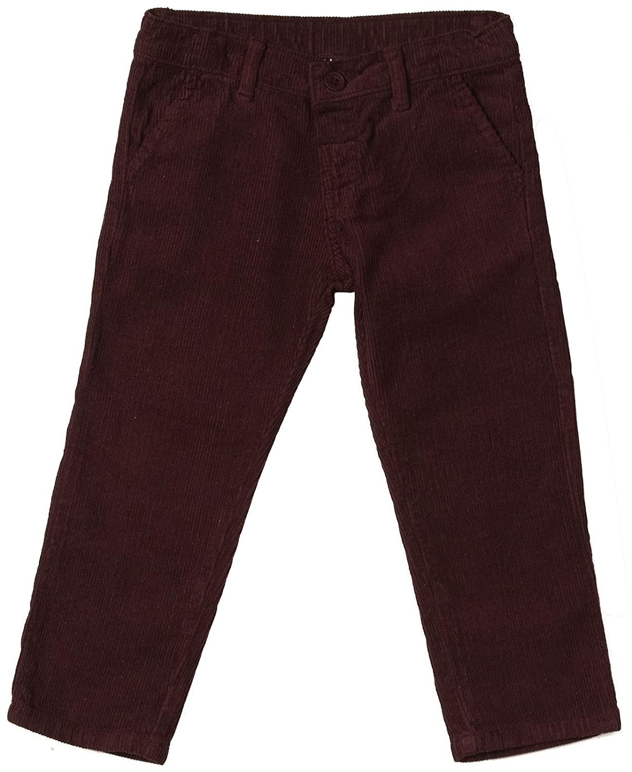 Girandola Big Boys' Pants Toddler Kid Maroon