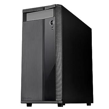 62db983500 SilverStone PRECISIONシリーズ コンパクトATXケース ブラック SST-PS14B 日本正規代理店品