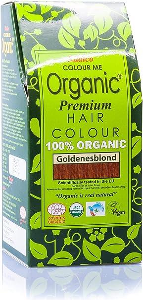 Radico - Tinte vegetal orgánico para el cabello - Rubio