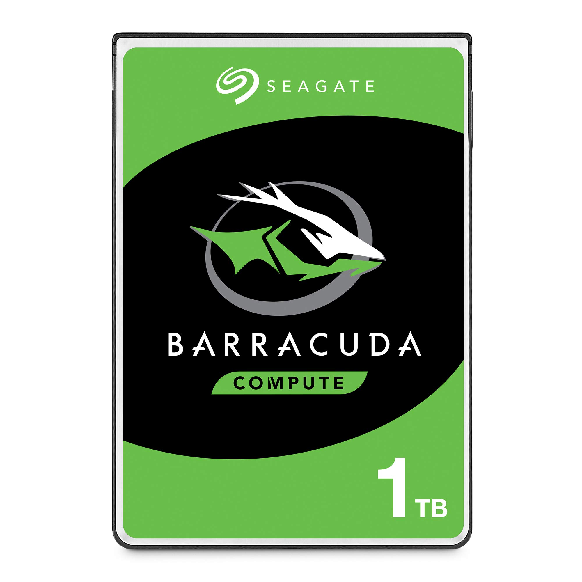 Seagate BarraCuda 1TB Internal Hard Drive HDD - 2.5 Inch SATA 6 Gb/s 5400 RPM 128MB Cache for PC Laptop - Frustration Free Packaging (ST1000LM048)