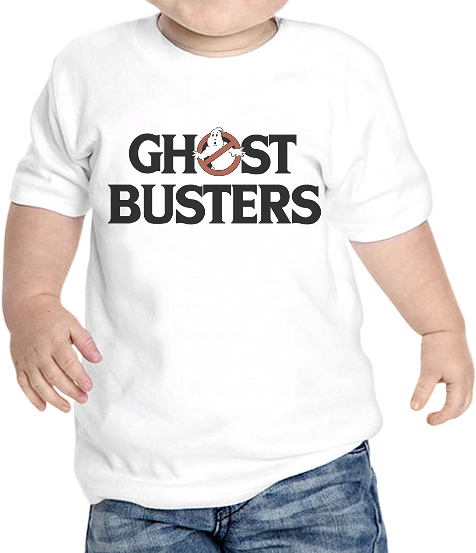 T-Shirt Neonato Ghost Buster Logo Film Cult