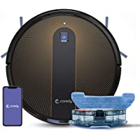 Coredy R750 Robot Vacuum Cleaner, Compatible with Alexa, Mopping System, Boost Intellect, Virtual Boundary Supported…