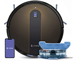 Coredy R750 Robot Vacuum Cleaner, Compatible with Alexa, Mopping System, Boost Intellect, Virtual Boundary Supported, 2200Pa