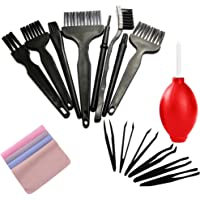 Small Anti Static ESD Safe Cleaning Dust Brush Kit for Phone Computer Keyboard Laptop Screen Camera Lens,ESD Precision…