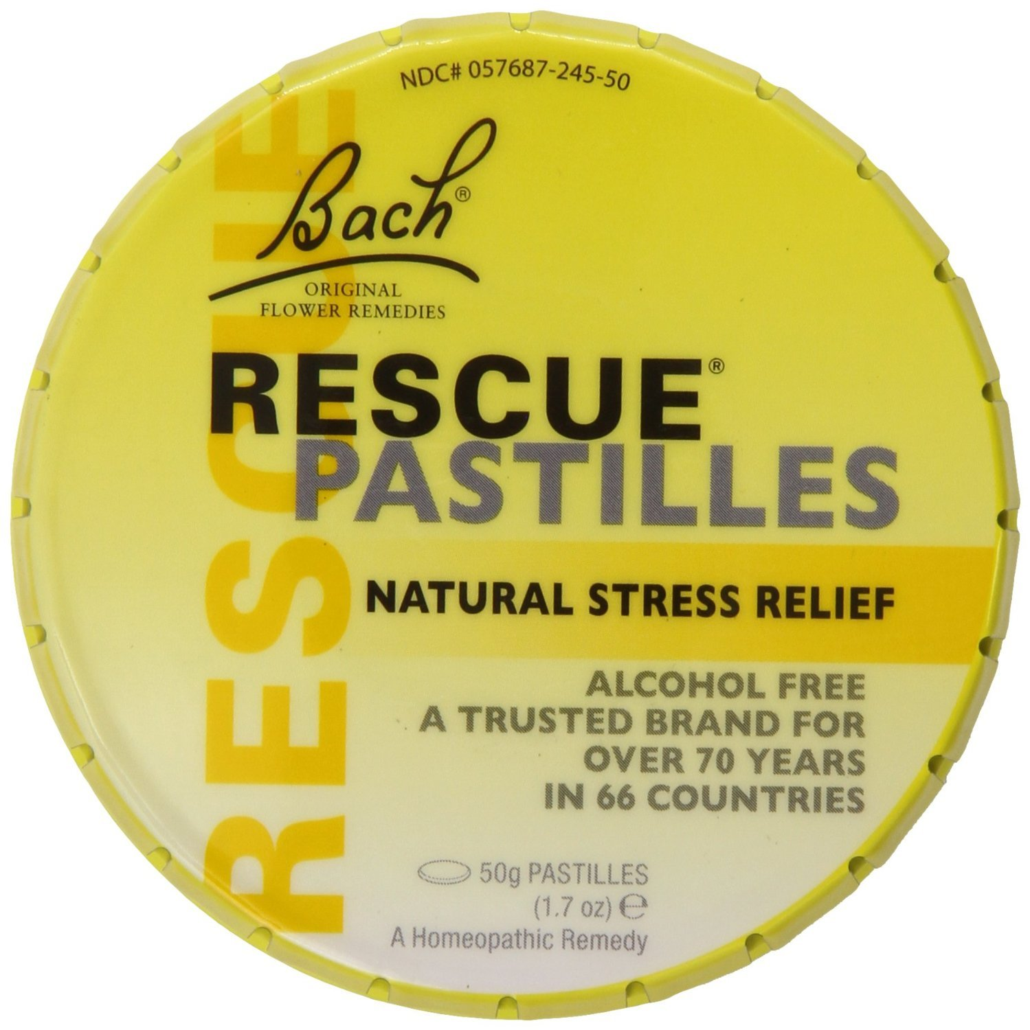 Bach Nelsons Rescue Pastilles Supplement, 50 Gram, Pack of 3