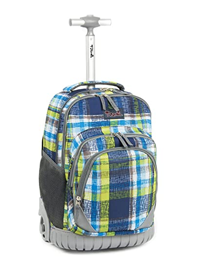 215d472781a5 Tilami Rolling Backpack Armor Luggage School Travel  Amazon.in  Electronics