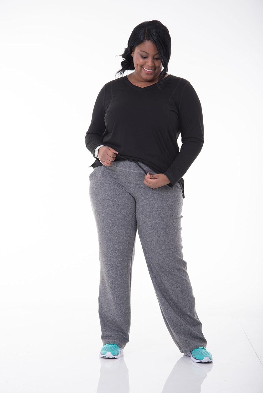 Womens Plus-Size Plus Size Dual Face Sweatpant