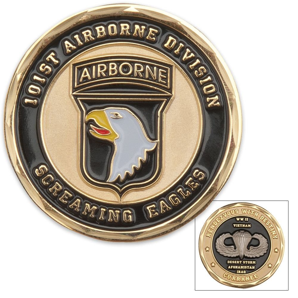 101st Airborne Division Challenge Coin (Eagle Crest 2260) by Eagle Crest