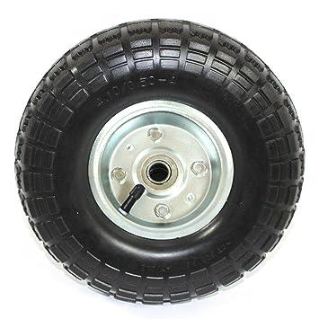 Rueda para carretilla neumática con Rodamiento 4.10/3.50-4 Plataformas Carros