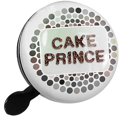 Amazon.com : NEONBLOND Bike Bell Cake Prince Chocolate Fudge ...