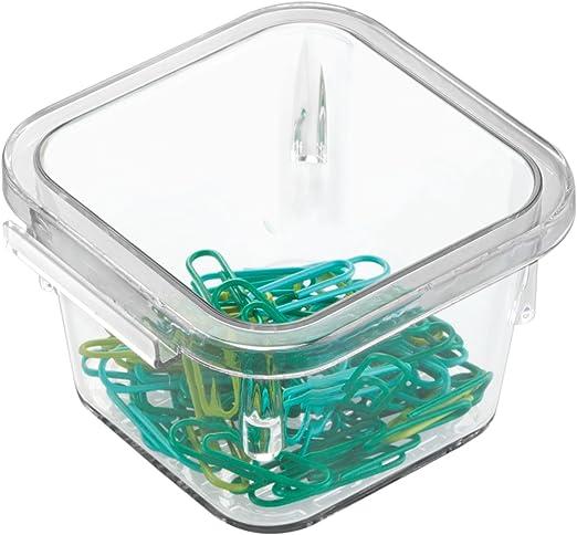 Clear Bathroom Vanities-Extra Large Office InterDesign Linus Interlocking Drawer Organizer for Kitchen