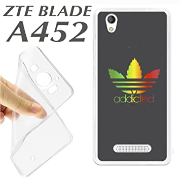 K177 FUNDA CARCASA ZTE BLADE A452 BLANDA GEL TPU ADDICTED ...
