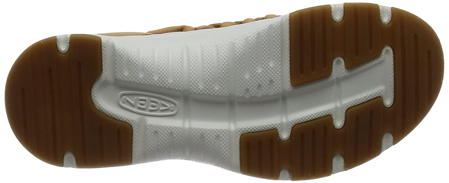 KEEN Women's 5.5 Uneek o2-w Sandal B01N11IBN6 5.5 Women's B(M) US|Tan/White f78666