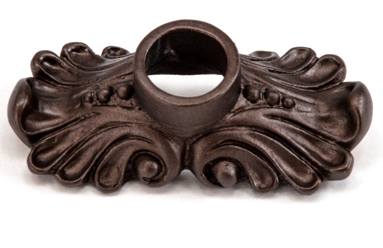 Carpe Diem Hardware 842-12 Acanthus Escutcheon, Bronze