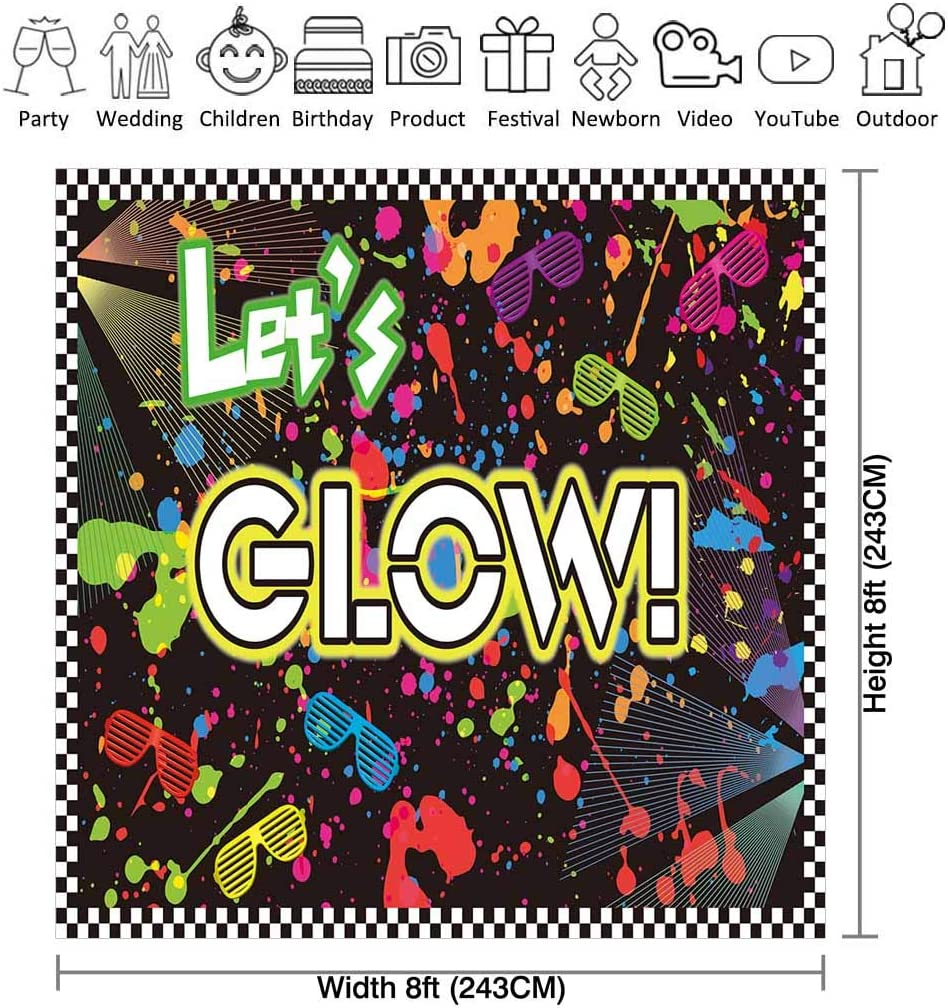 Amazon.com: Allenjoy - Telón de fondo para fiestas, diseño ...