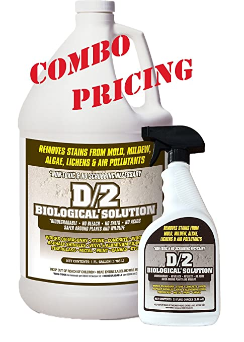 Amazon.com: D2 biológica Solución 1 Galón/(1) 32 oz Quart ...
