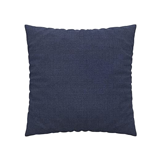 Soferia - IKEA Funda para cojín 60x60, Naturel Navy Blue ...
