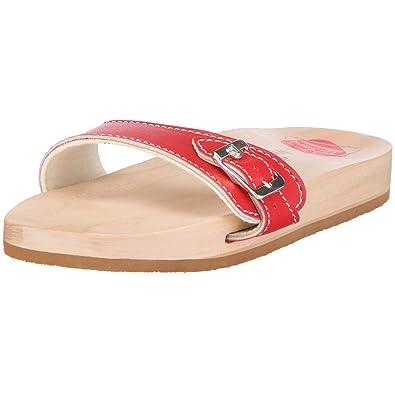 Adult Berkemann Clogs And Sandale Red Rotrot Original Unisex Mules hrxsBtQCd