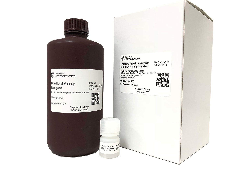 Bradford - Masa de proteínas con BSA proteína estándar – 500 ...