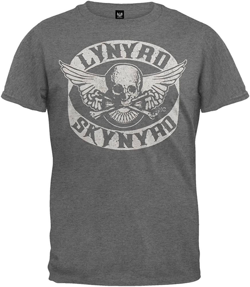 Old Glory Lynyrd Skynyrd - Biker Patch T-Shirt