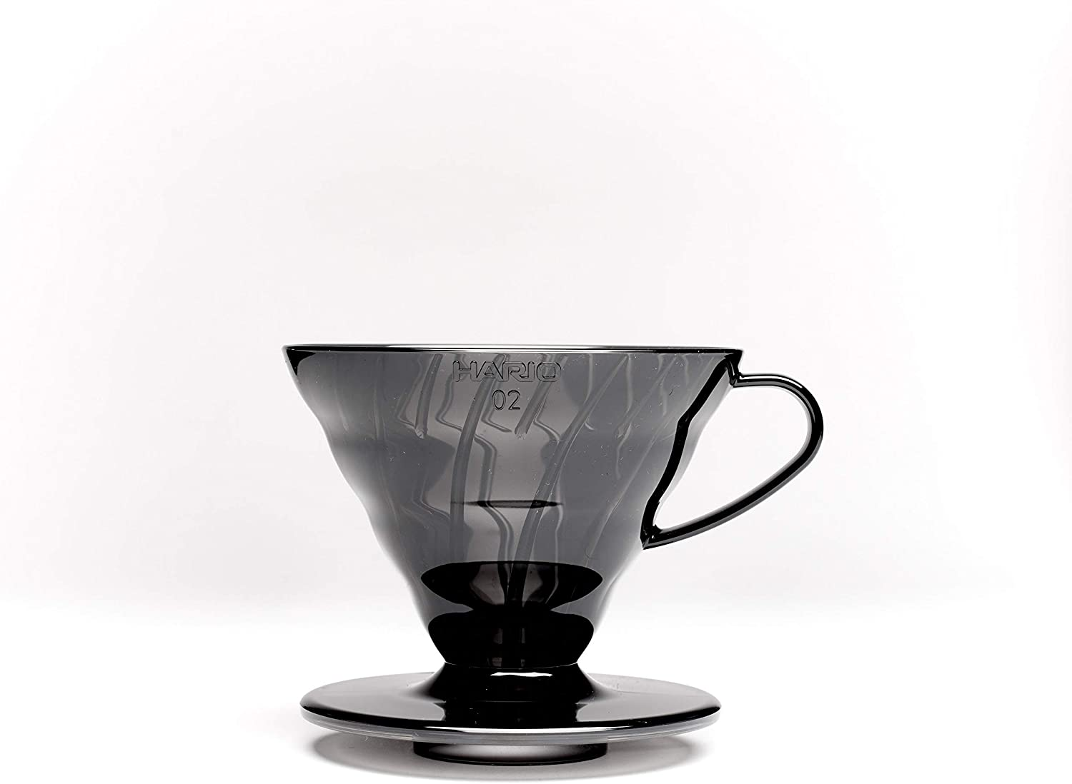 Scoop HARIO V60 Black Dripper with Paper Filters 40 Pack