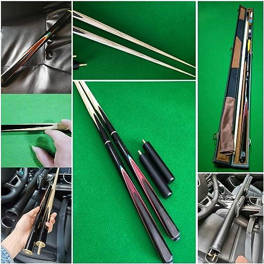 XZYY Taco De Billar-3/4 Articulado Billar Desmontable Pool Cue Snooker-145cm / 57