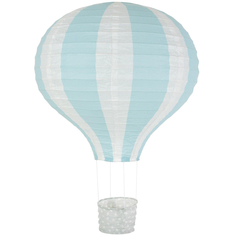 Jabadabado X6030 Paper Lantern Balloon Lightblue 40Cm, Multi-Colour