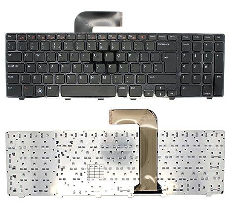 Auténtica teclado para ordenador portátil Dell XPS P09E Windows PC portátil Reino Unido Layout negro con