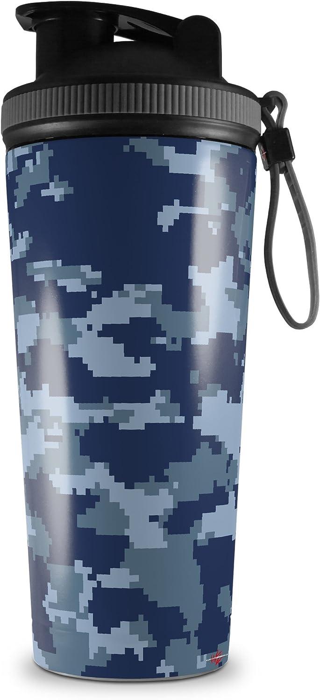 Skin Wrap Decal for IceShaker 2nd Gen 26oz WraptorCamo Digital Camo Navy SHAKER NOT INCLUDED
