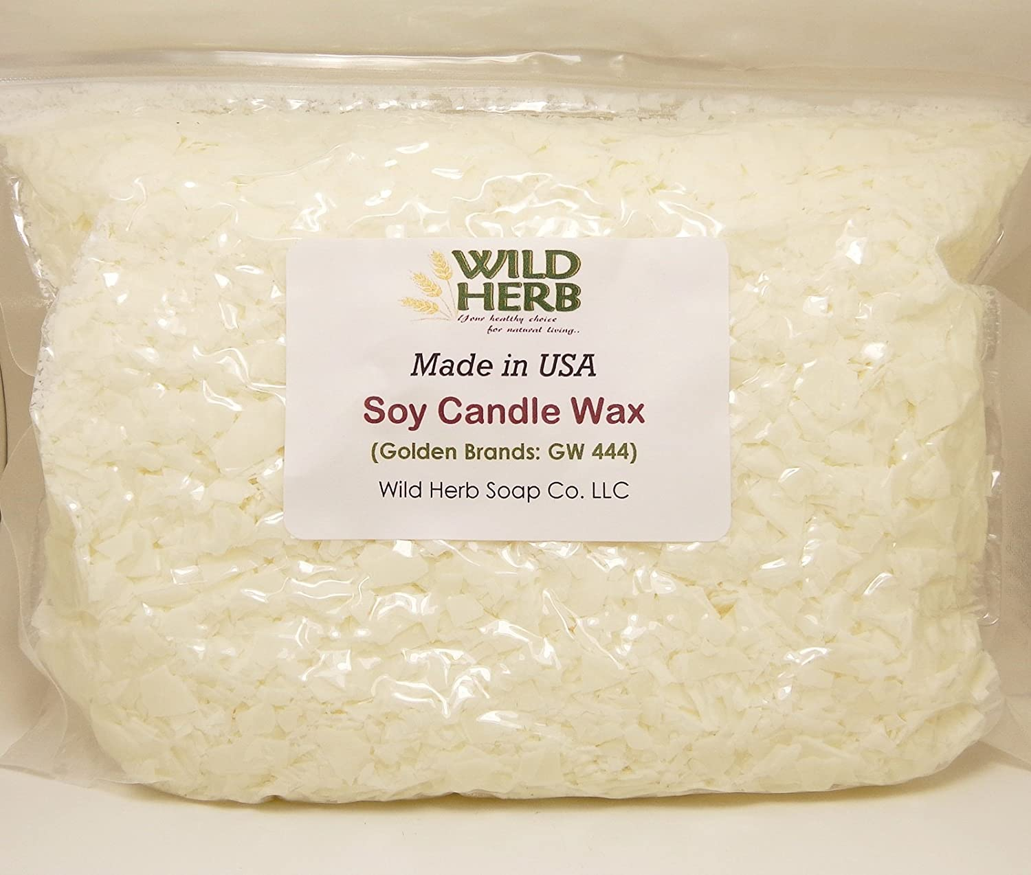 USA Made Bulk Soy Candle Wax Wild Herb Soap Co