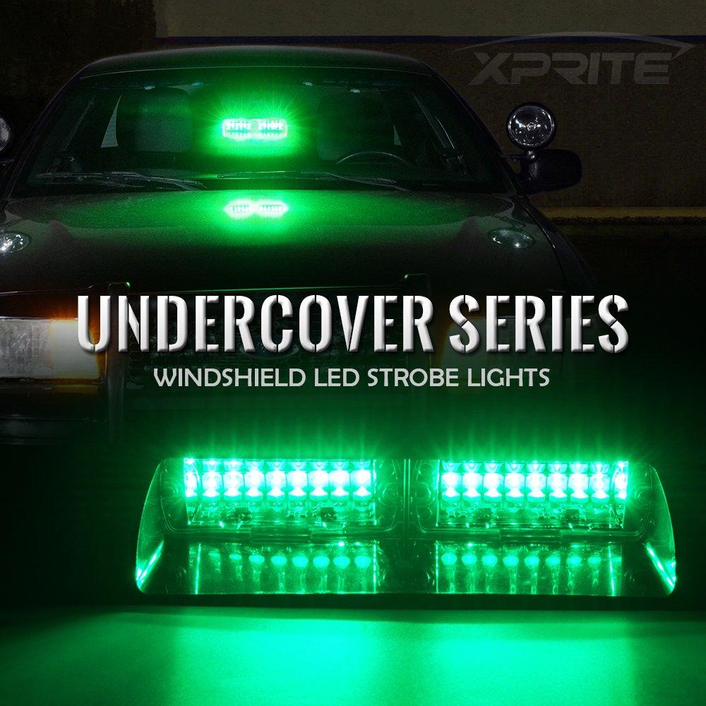 Amazon.com: Xprite Green 16 LED High Intensity LED Law Enforcement ...