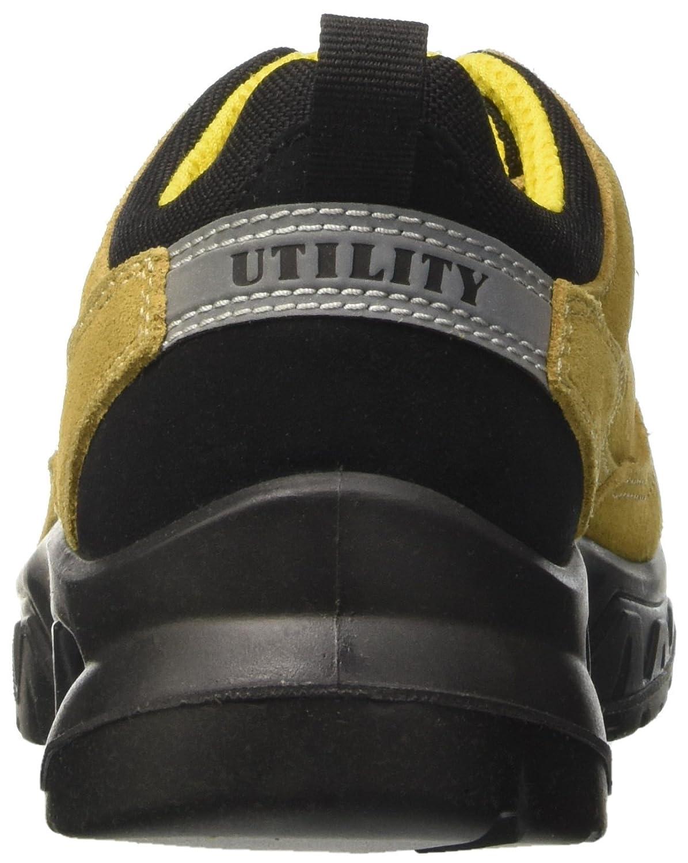Diadora Gemini – Ii Low S1p, Scarpe da Lavoro Unisex – Gemini Adulto, Giallo (Beige), 47 EU  - 7d6e2a