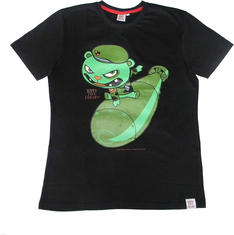 ACTS MTV HAPPY TREE FRIENDS - Camiseta - para Hombre: Amazon.es: Ropa y accesorios