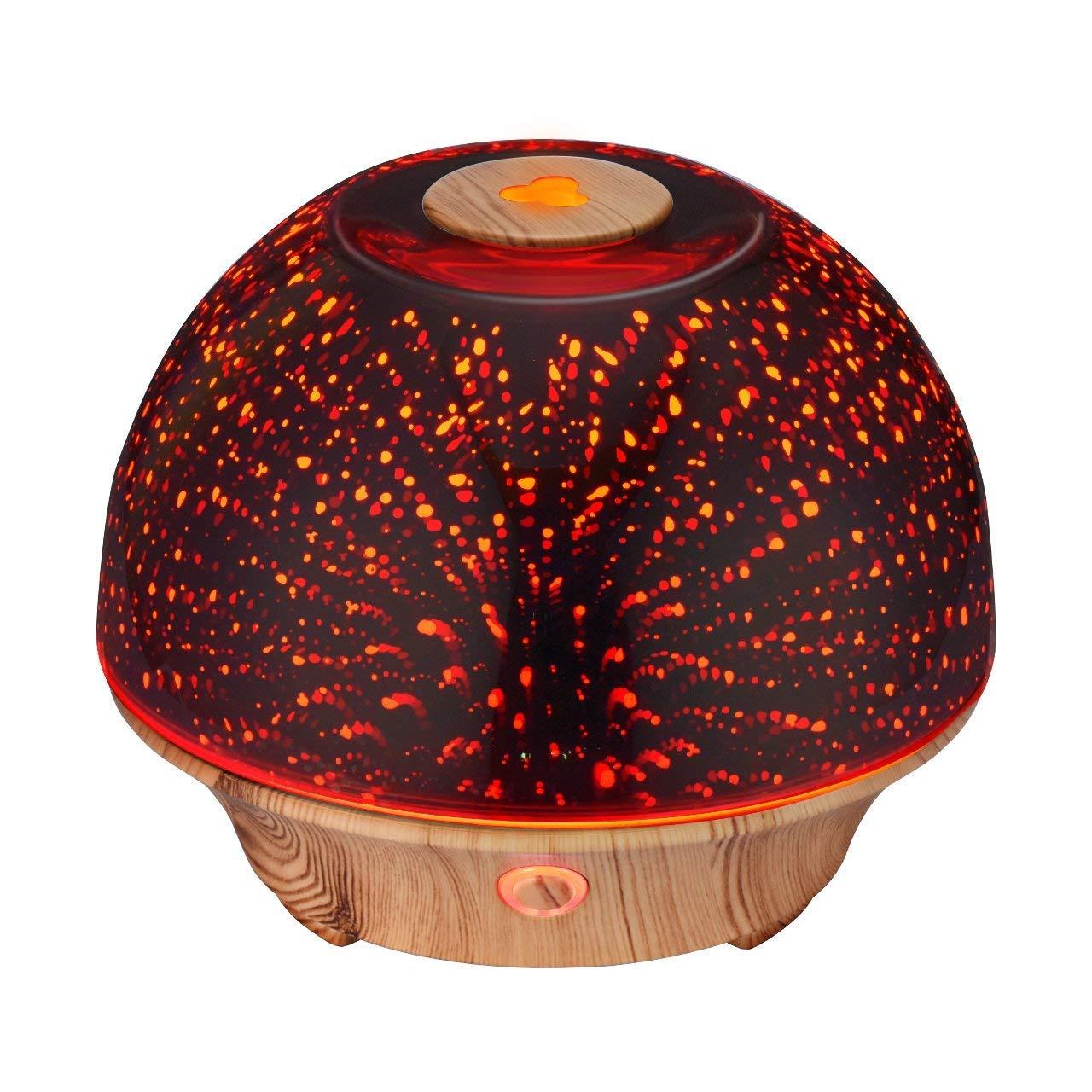 訳あり商品 VicTsing エッセンシャルオイルディフューザー 200ml 3D効果 3D効果 超音波アロマセラピーオイル B07GSRQF3C 加湿器 水なし自動オフ スターバーストファイヤーワーク効果 7色LEDライト 水なし自動オフ 家庭 オフィス 寝室 B07GSRQF3C, neneno -ネネノ インテリア-:e3001421 --- martinemoeykens.com