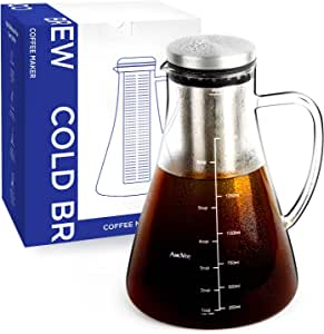 Amazon.com | Cold Brew Coffee Maker AmoVee 1.5L (51oz ...