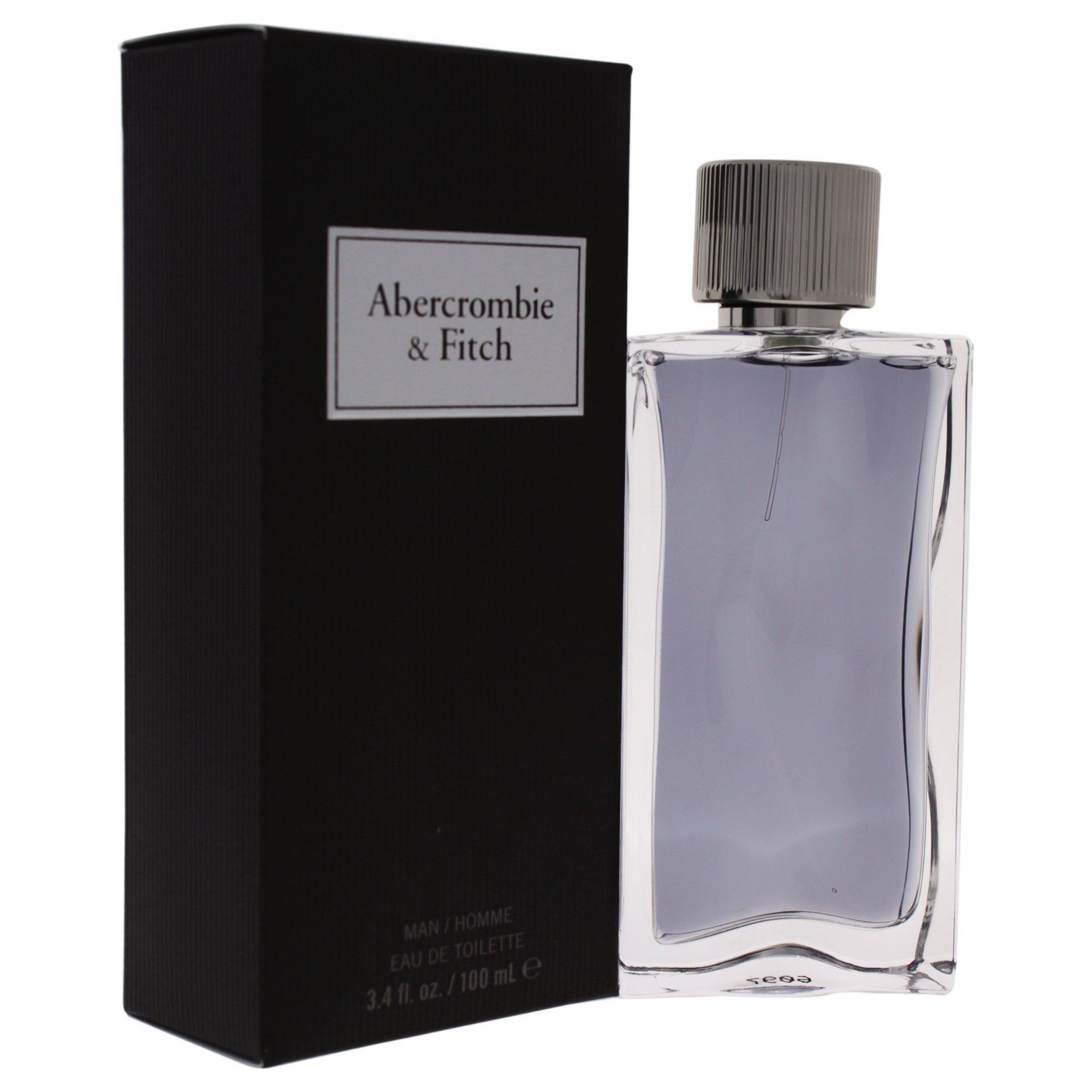 Abercrombie & Fitch First Instinct Men Eau De Toilette, 3.4 Ounce