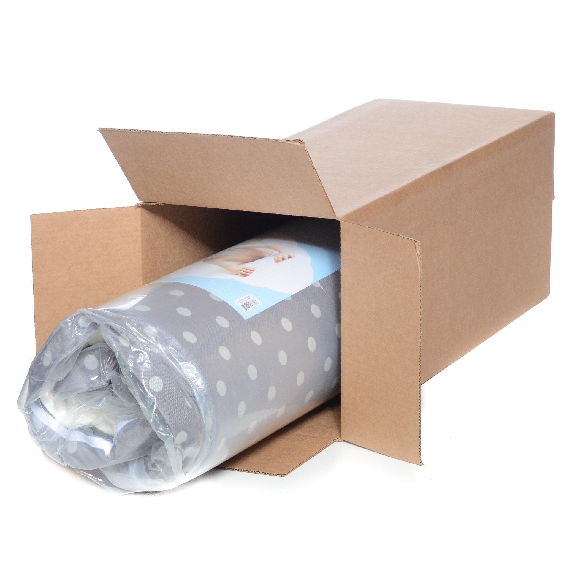 Milliard Crib Mattress and Toddler Bed Mattress | Hypoallergenic + Waterproof Encasement | 27.5''x52''x5'' by Milliard (Image #2)