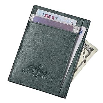 Etui RFID Blocage Porte Carte De Crédit Porte Carte De Credit - Porte carte bleue