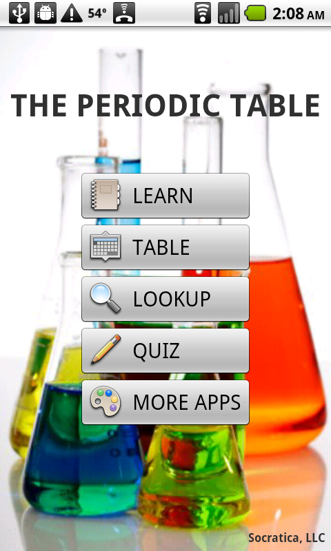 Amazon periodic table appstore for android urtaz Gallery