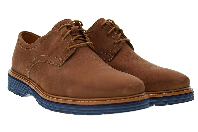 Clarks - Clarks Chaussures Hommes Classique Newkirk Plaine - De 630782 À 6,5, Cuir Beige