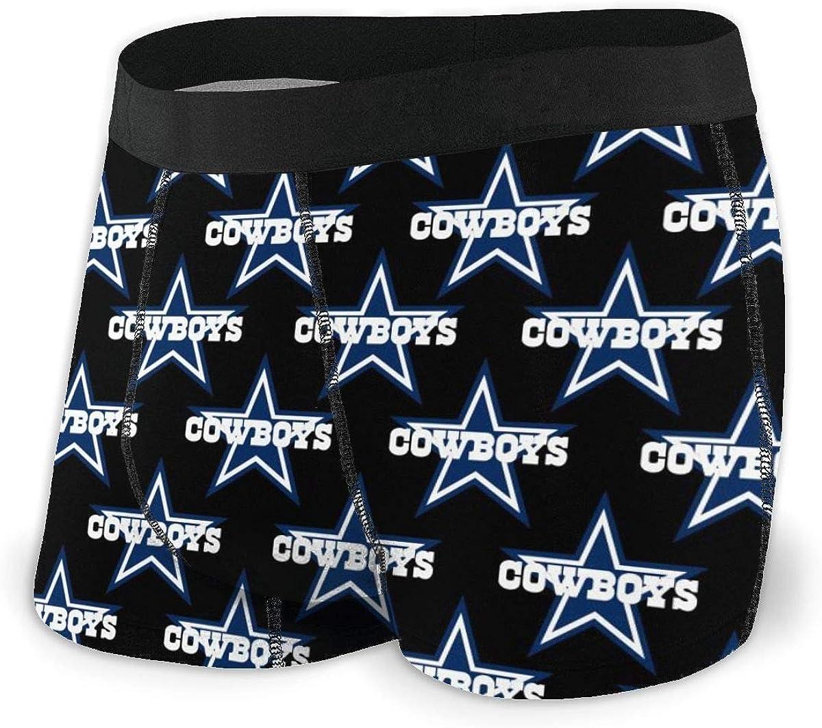 Daisyyr Kittooa Mens Underwear Soft Stretch-Knit Boxer Briefs