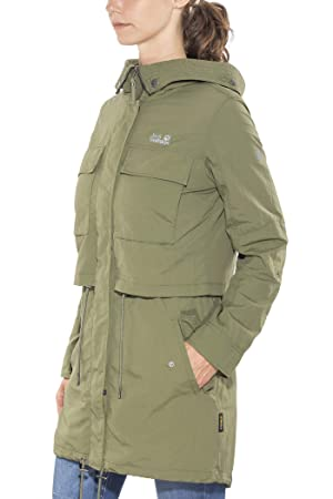 49999825521 Jack Wolfskin Womens/Ladies Saguaro UV Protective Parka Jacket Coat ...