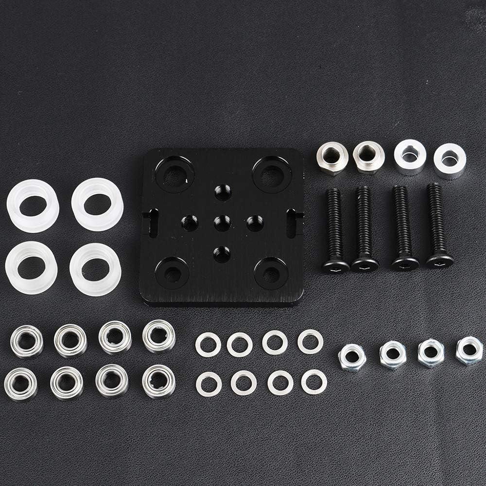 norma europea 2020 Accesorio para impresora 3D perfil de aluminio Vaorwne ranura en V-Slot Build Gantry Plate