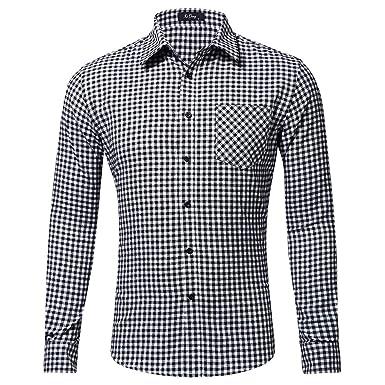 b2dcfc733 Camiseta Térmica para Niños BBsmile Moda Casual Manga Larga Camisa Solo  Bolsillo Camisa Estampada celosía Camiseta