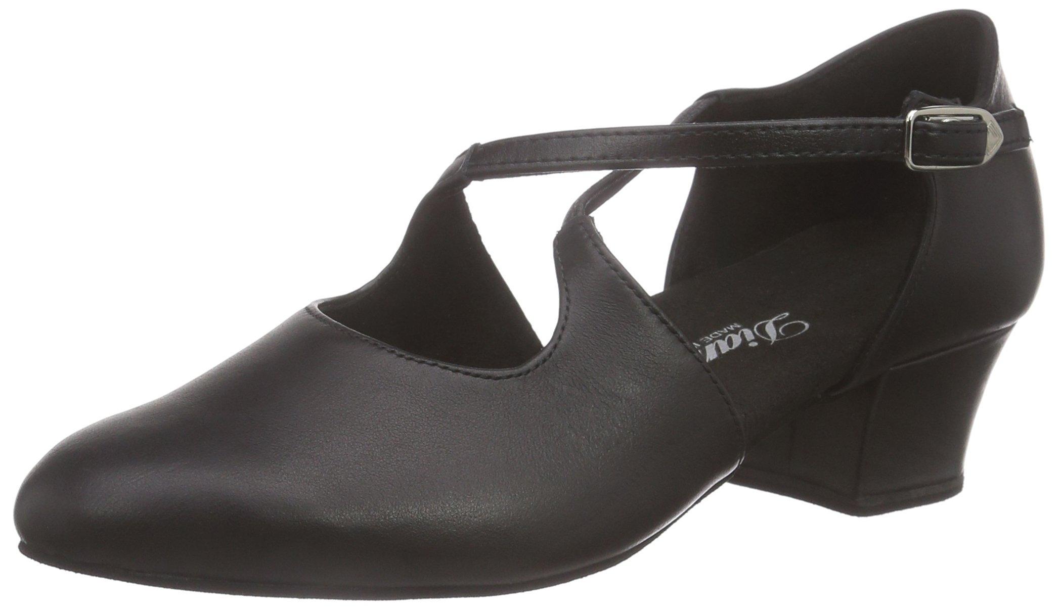 Diamant - Womens Dance Shoes 052-102-034 1.5'' (3.7cm) Black (2 F(M) UK / 4.5 B(M) US)