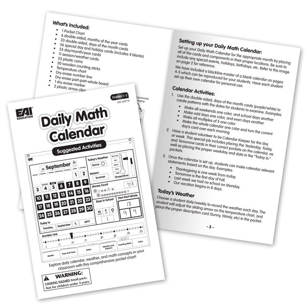 EAI Education Daily Math Calendar