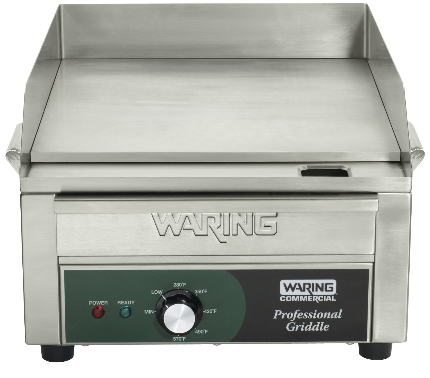 Waring Commercial WGR140 120-volt Electric Countertop Griddle, 14-Inch product image