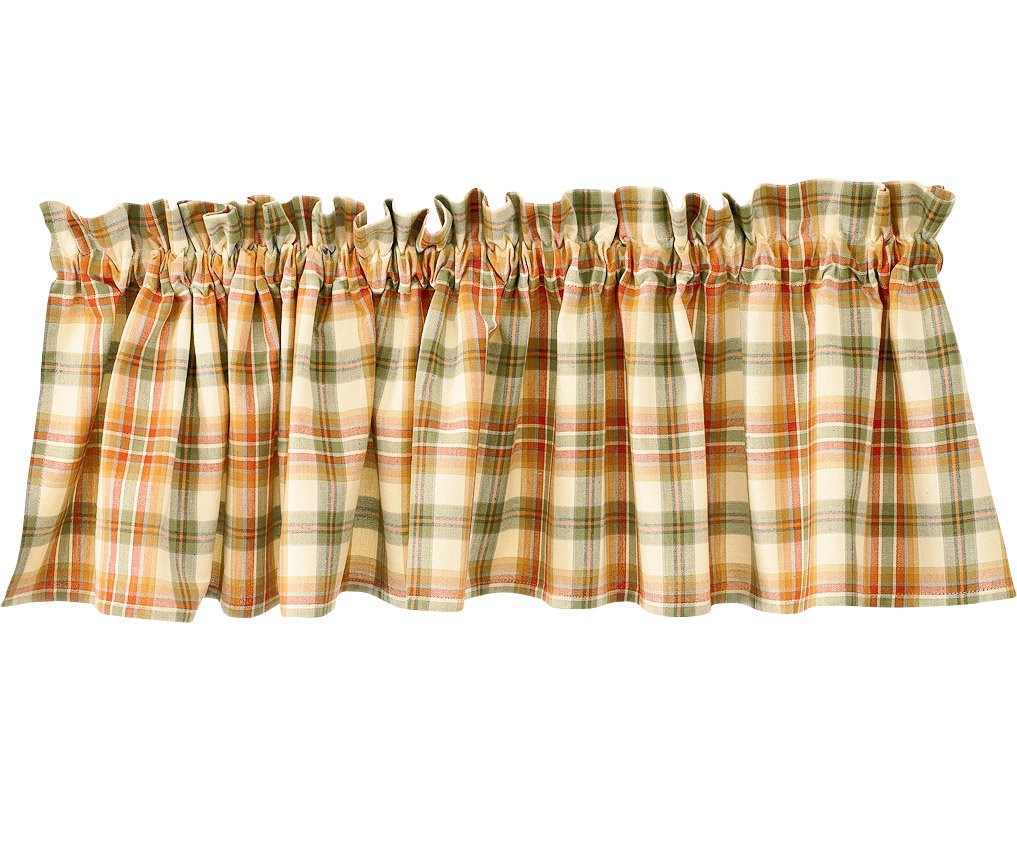 Lemon Pepper Country Window Valance By Park Designs, 72'' x 14''